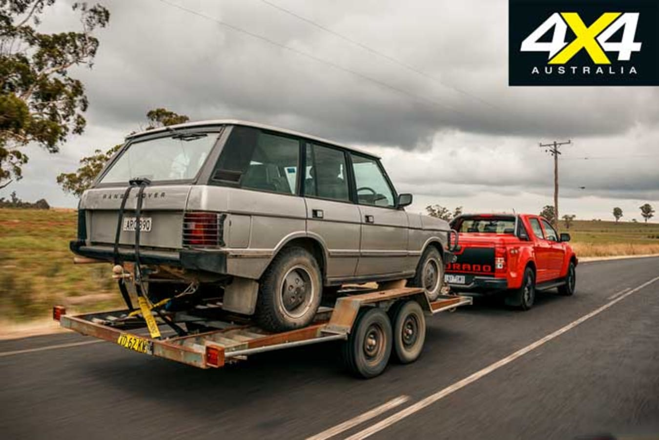 Science Of Towing Ute And Trailer Range Rover Jpg