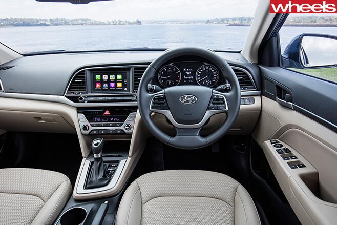 Hyundai -Elantra -interior