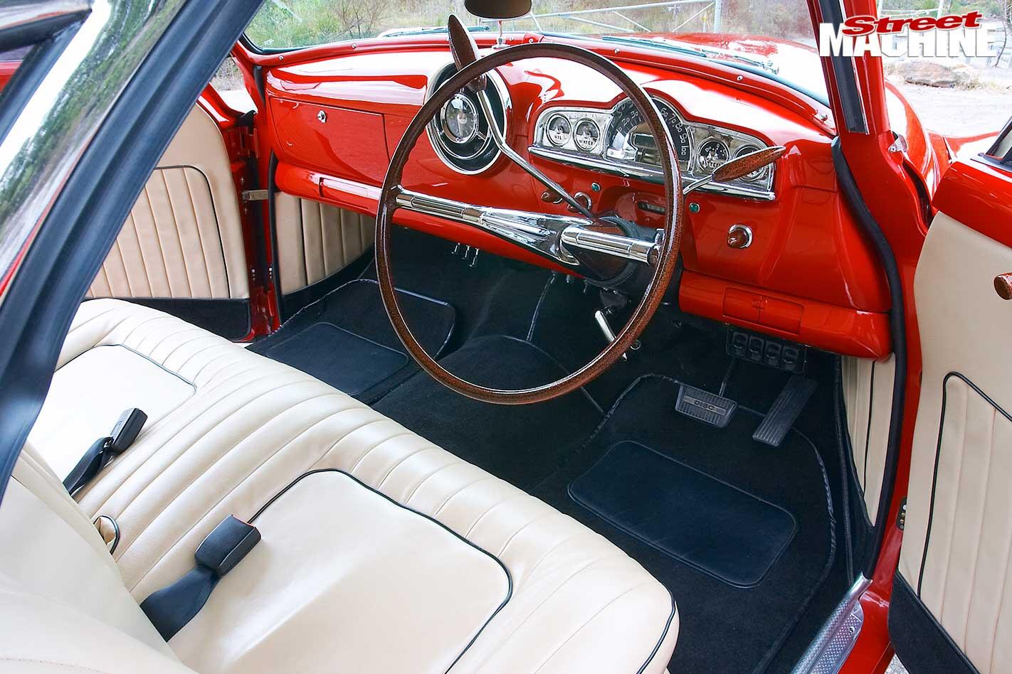 Chevrolet two door interior