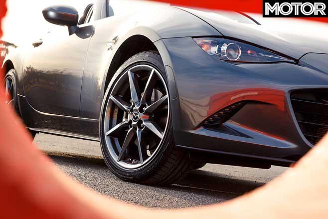 2019 Mazda MX-5 GT wheel