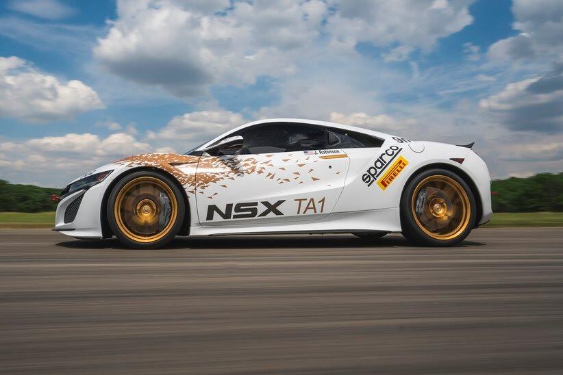 2016 Honda NSX PIkes Peak