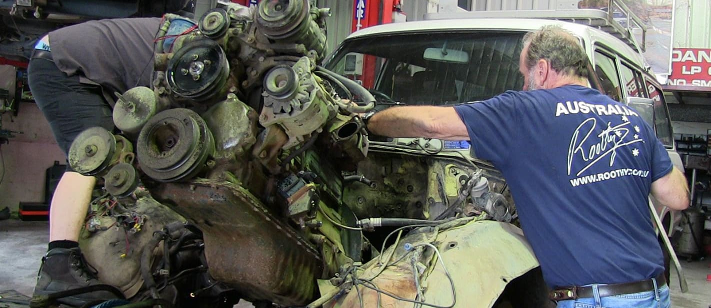 Roothys Milo 2 receives an engine transplant main