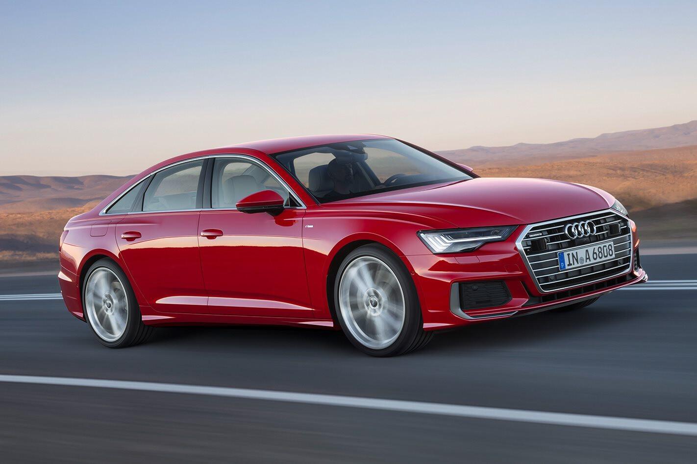 2019 Audi A6 breaks cover ahead of Geneva