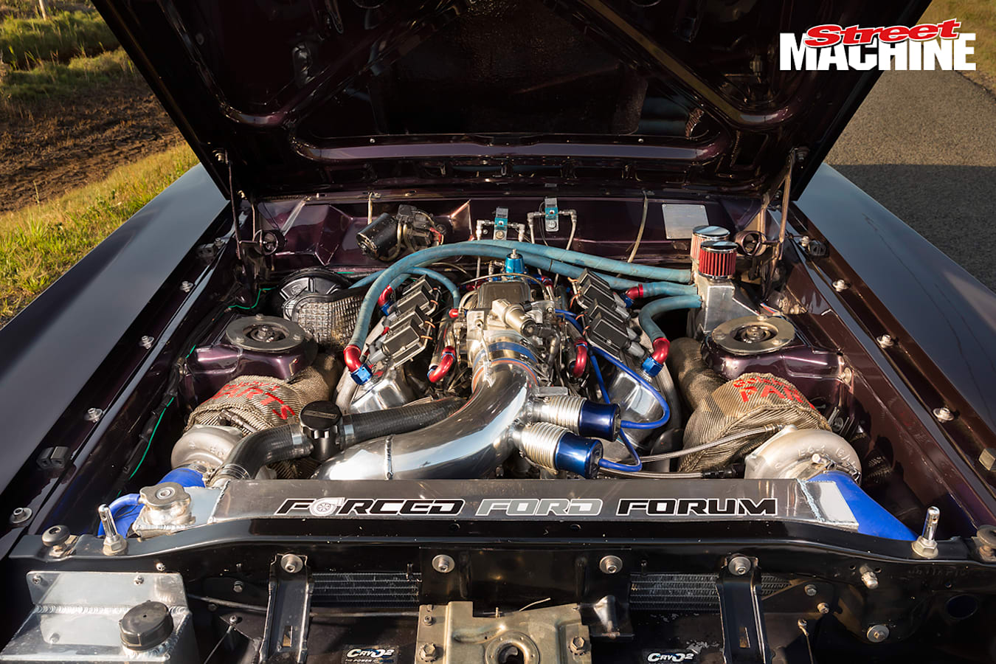 Ford XW Falcon Twin Turbo Engine Jpg