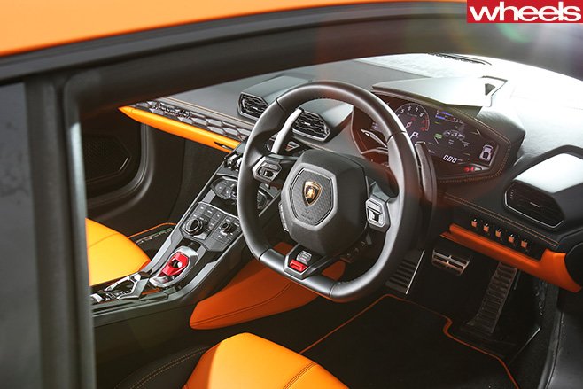 Lamborghini -Huracan -interior