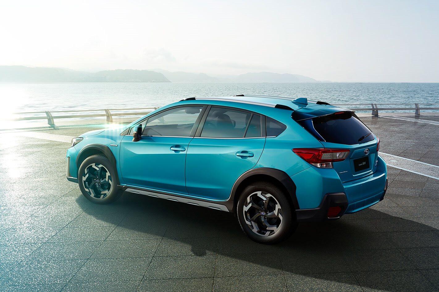 2021 Subaru XV mid-life update