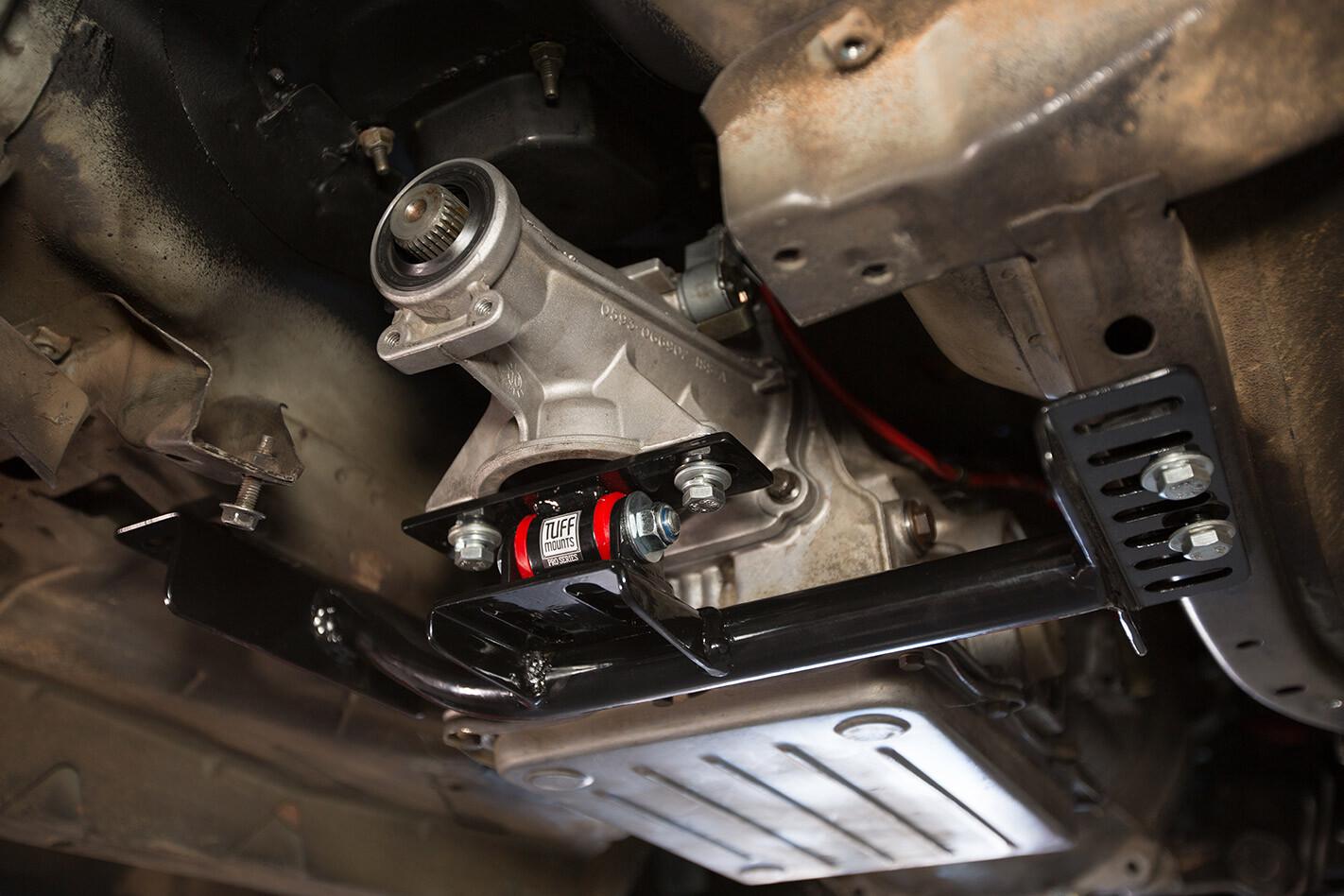 Borgwarner four-speed auto