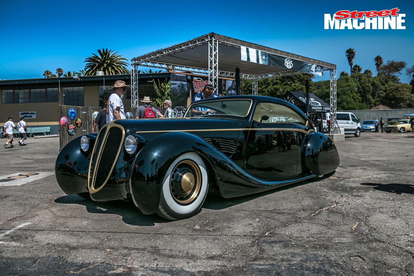 James Hetfield's Black Pearl coupe