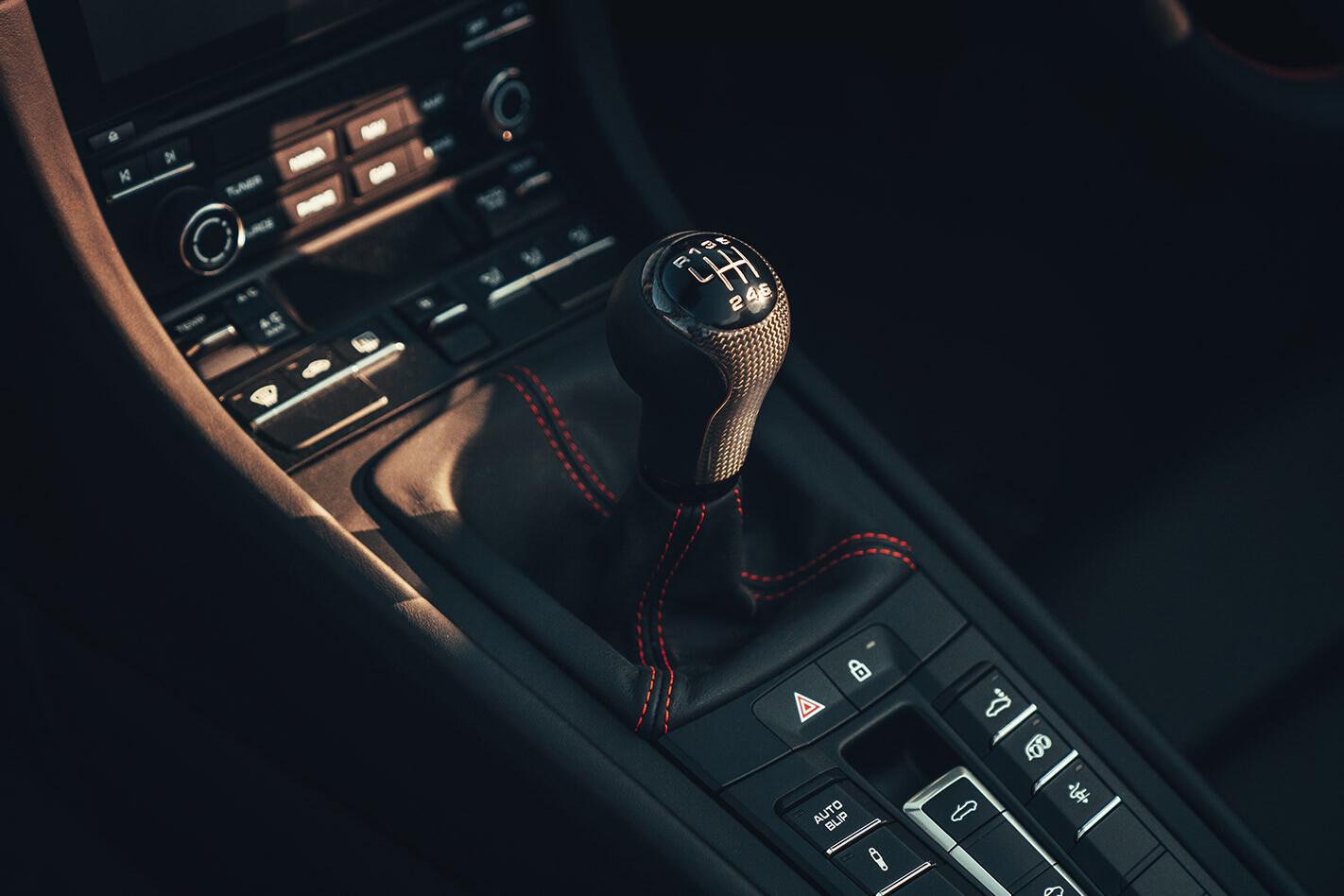 2020 Porsche 911 Speedster centre console