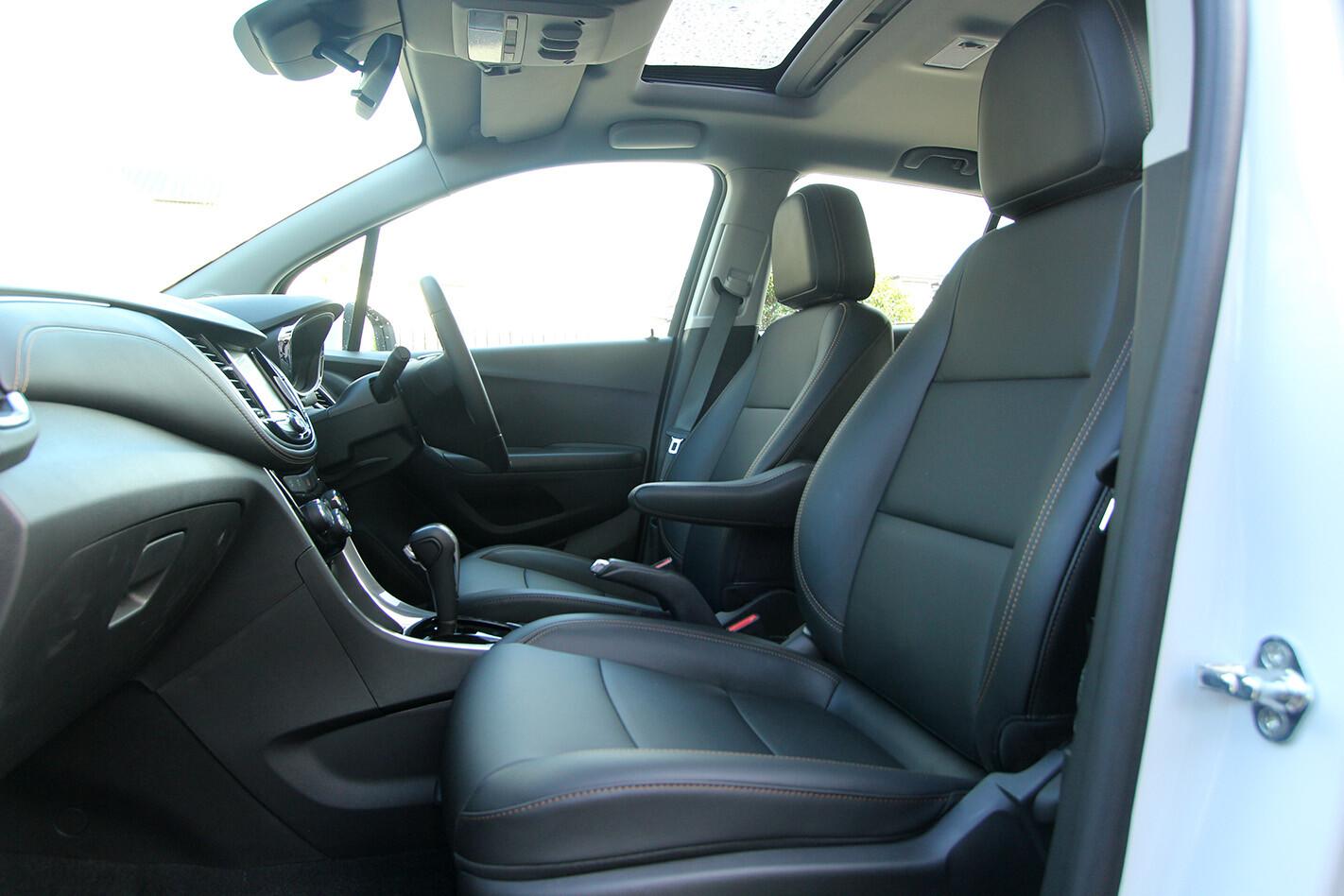 2019 Holden Trax Ltz Review Interior Frontseats 281 29 Jpg