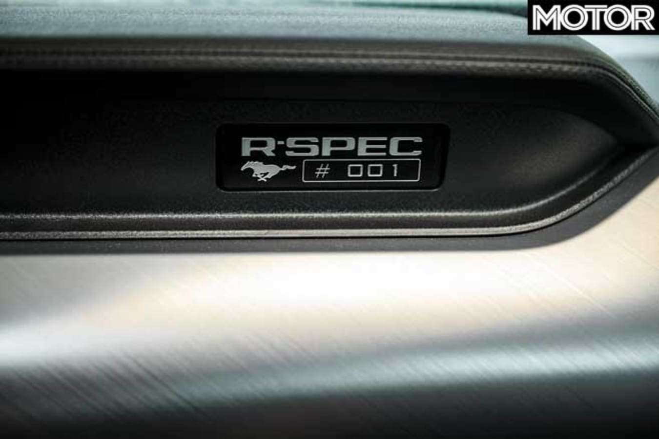Ford Mustang R Spec Build Plate Jpg