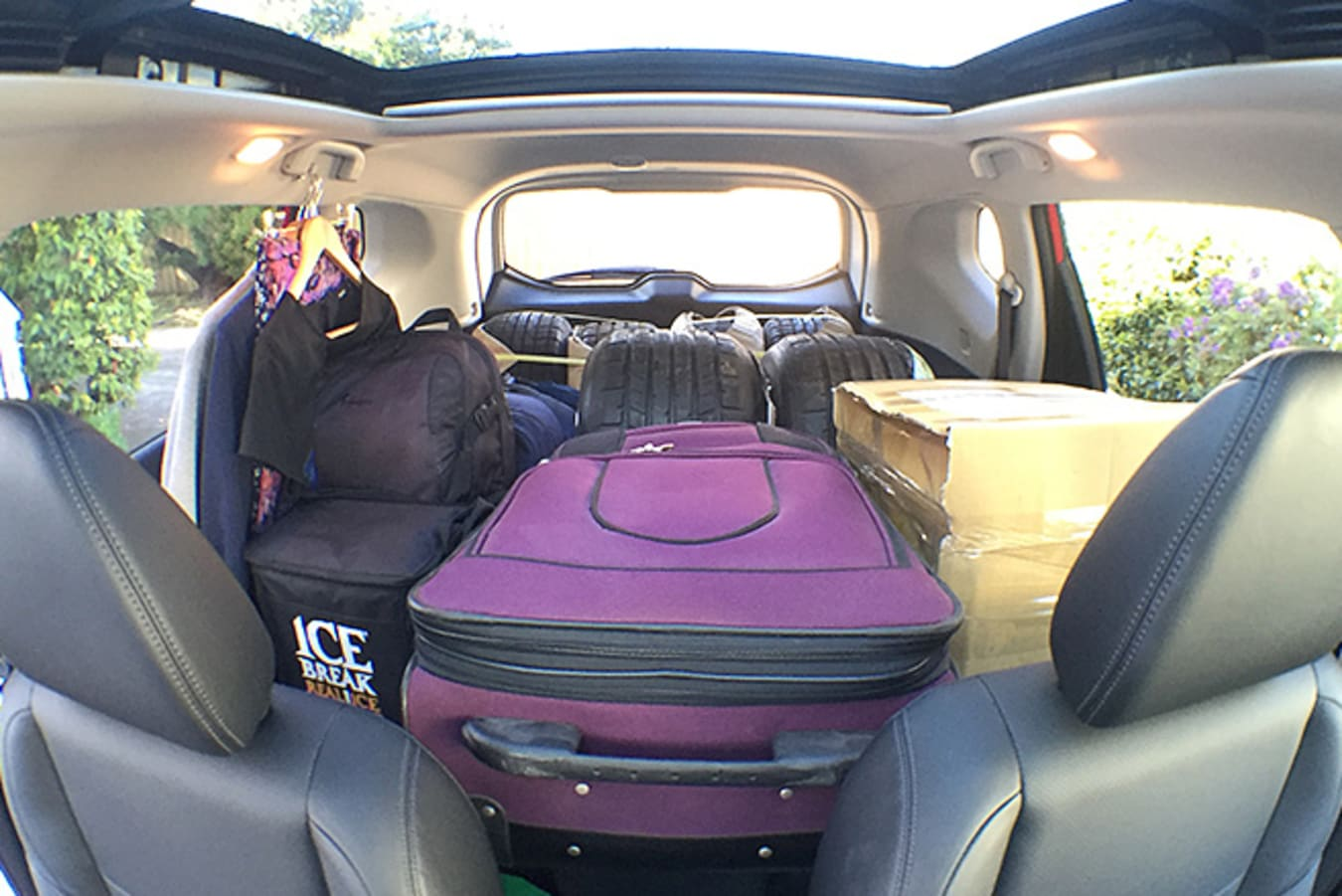 Nissan Trail packed