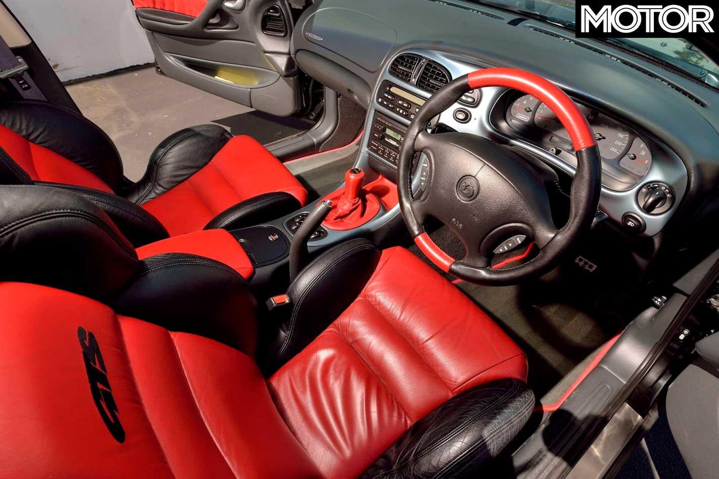 2000 HSV VTII GTS R Mecum Auction Interior Jpg