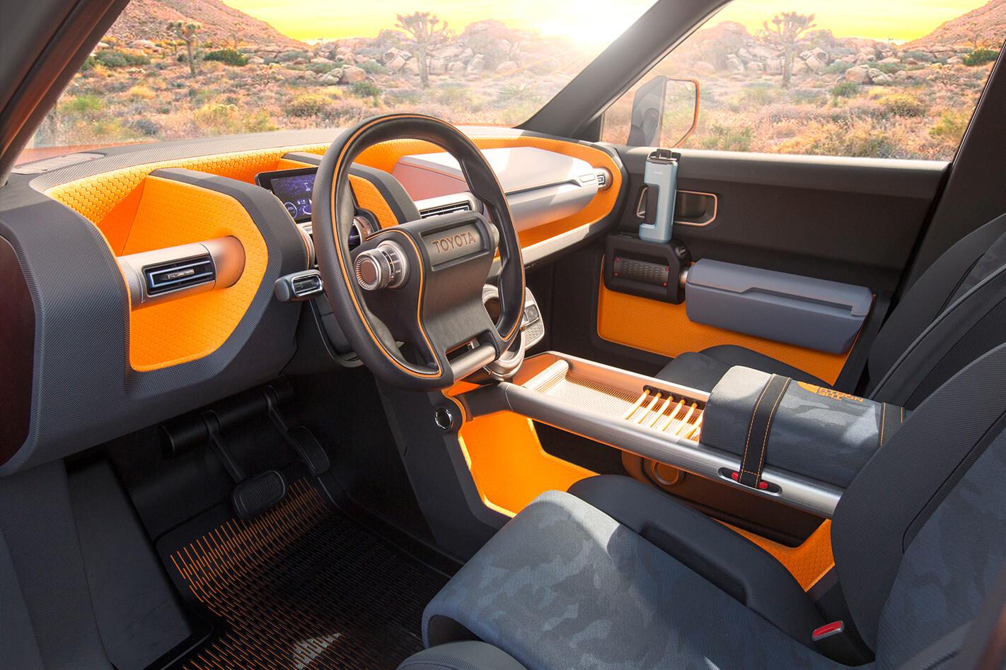 Toyota FT-4X interior side