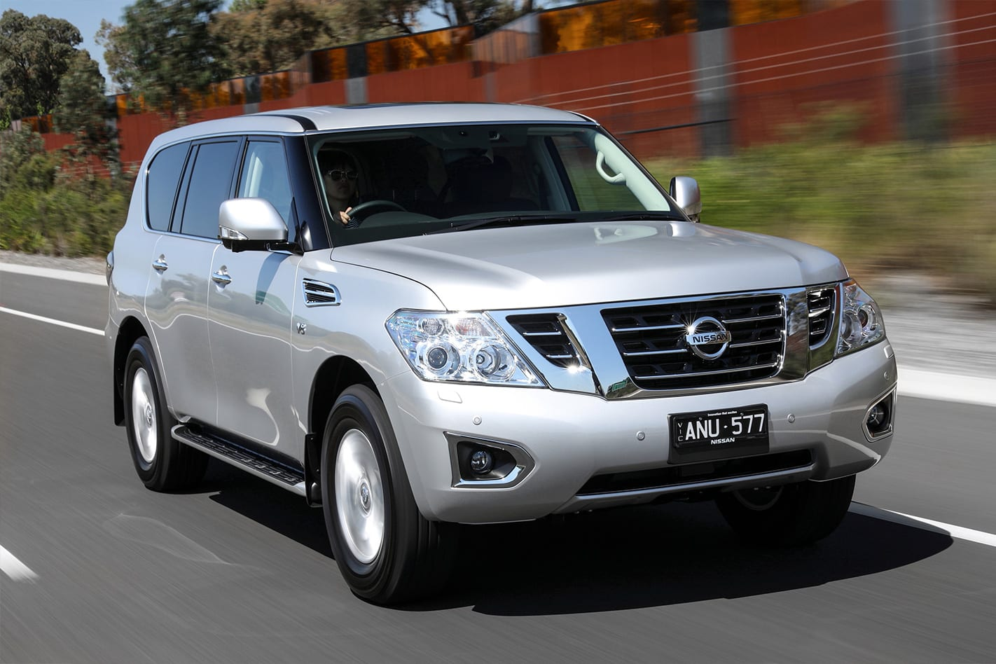 2018 Nissan Patrol Front   Wheels Magazine Review