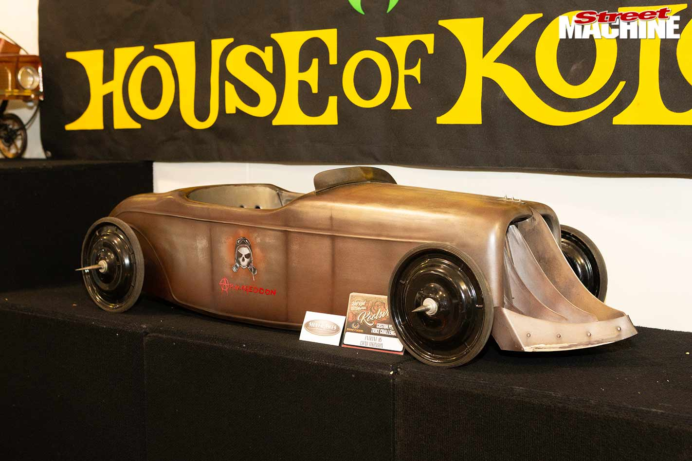 Chad Atkinson from Silver Aces fabricated car