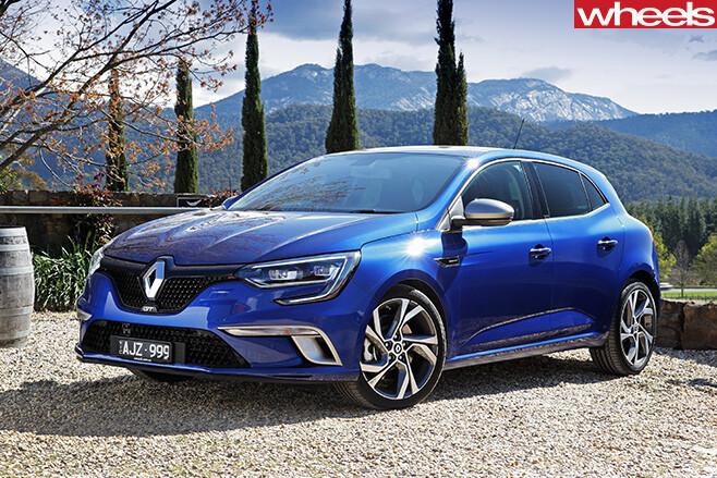 Renault -Sport -Megane -GT-front -side