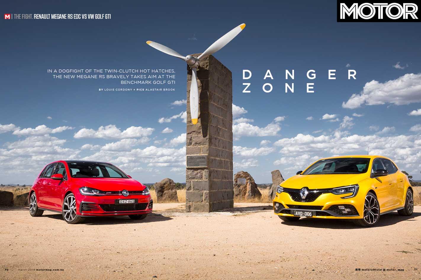 MOTOR Magazine March 2019 Issue Renault Megane Rs Volkswagen Golf Gti Jpg