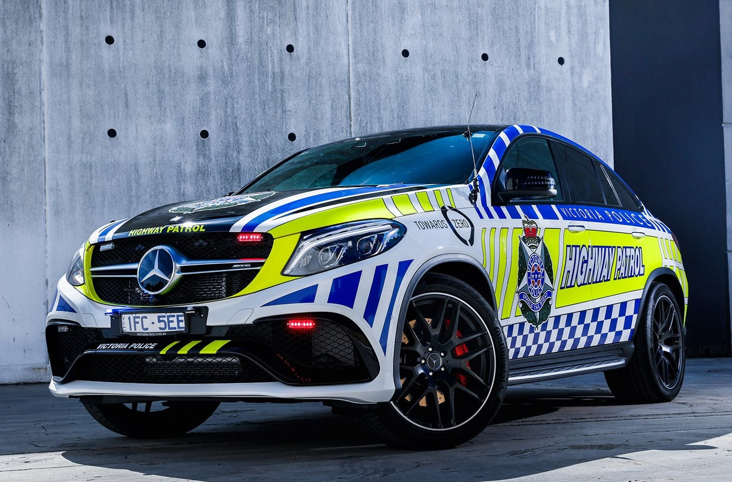 Victoria Police welcome Mercedes-AMG GLE63 S to highway patrol