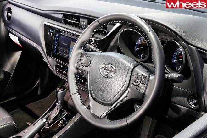 Toyota -Corolla -interior