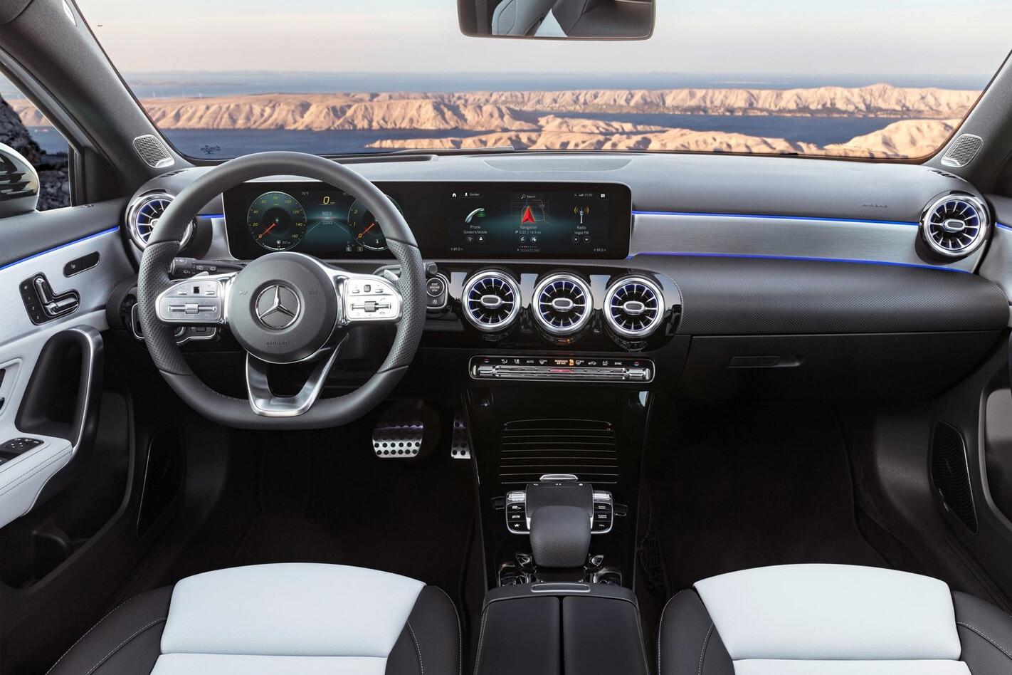 Mercedes A Class Interior Jpg