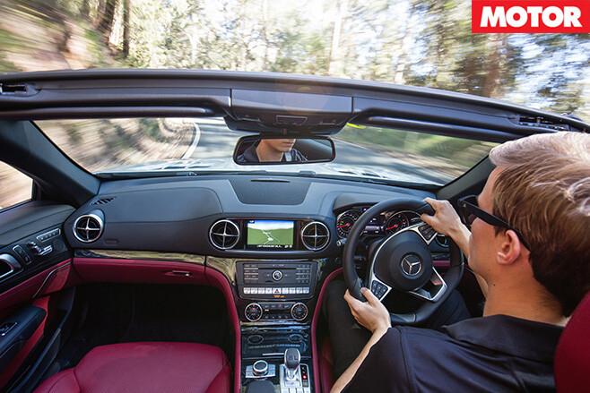 2016 Mercedes-Benz SL400 interior