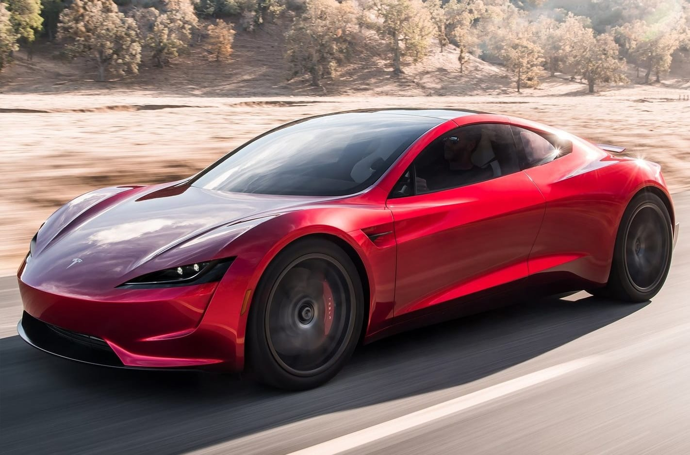 Customers hand over 66K for a ride in the new Tesla Roadster