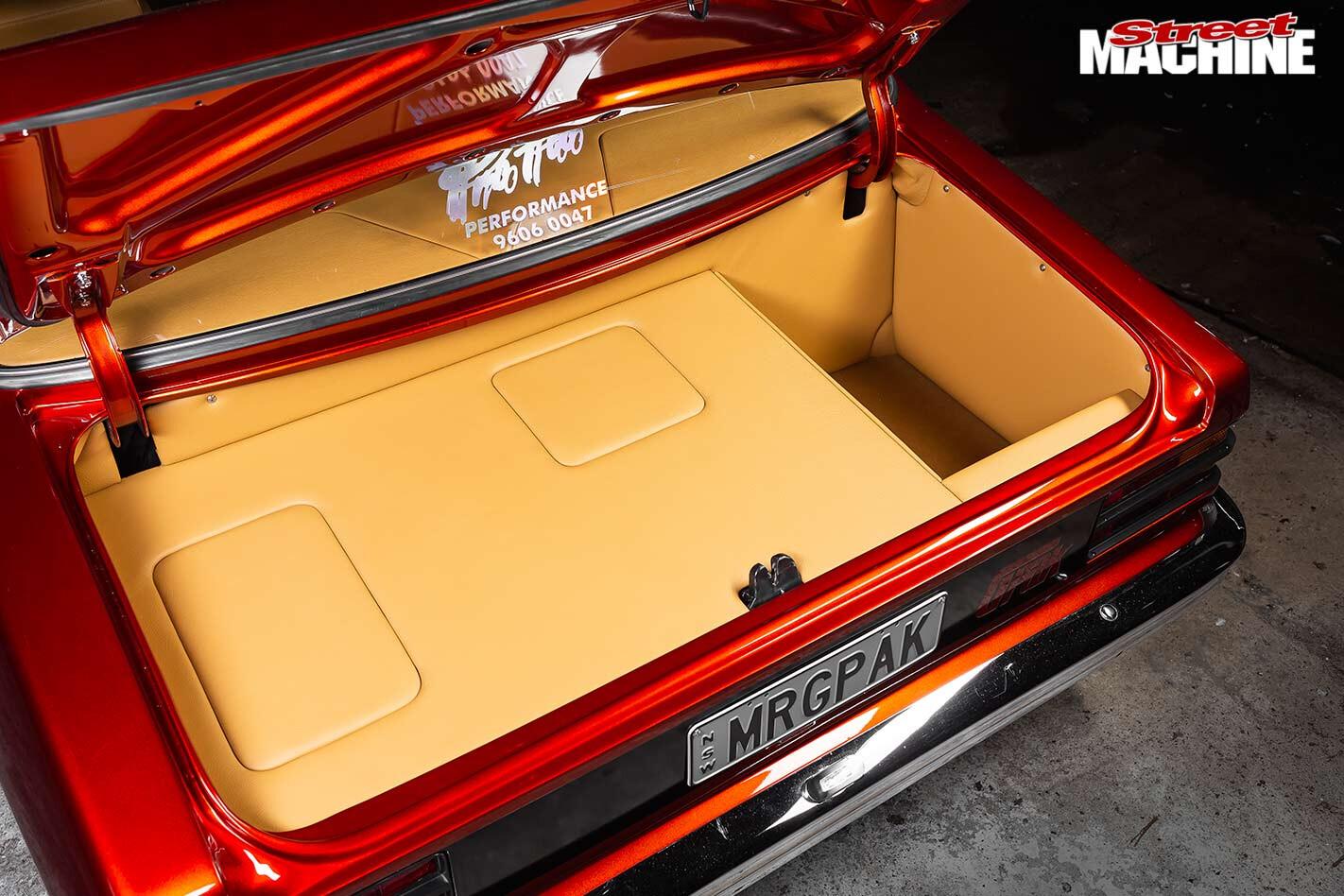 Holden Torana LH G-Pak boot