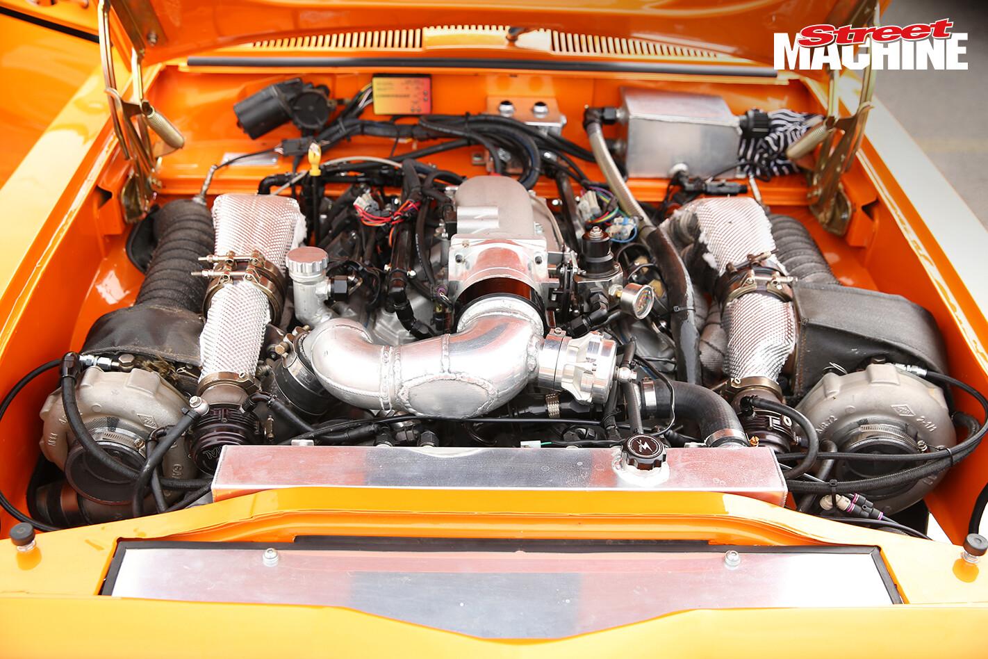 LC Torana FAT355 LS Twin Turbo Engine