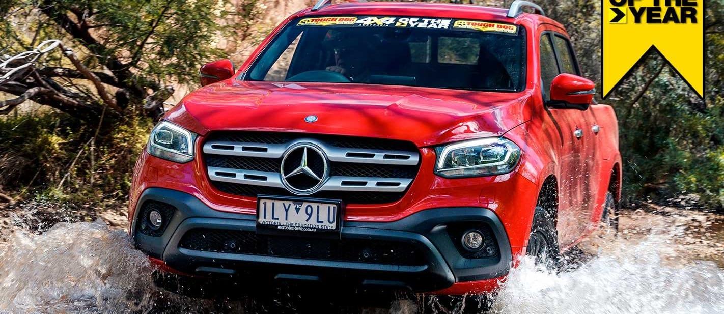 Mercedes-Benz X250d Progressive review 4x4 of the Year 2019