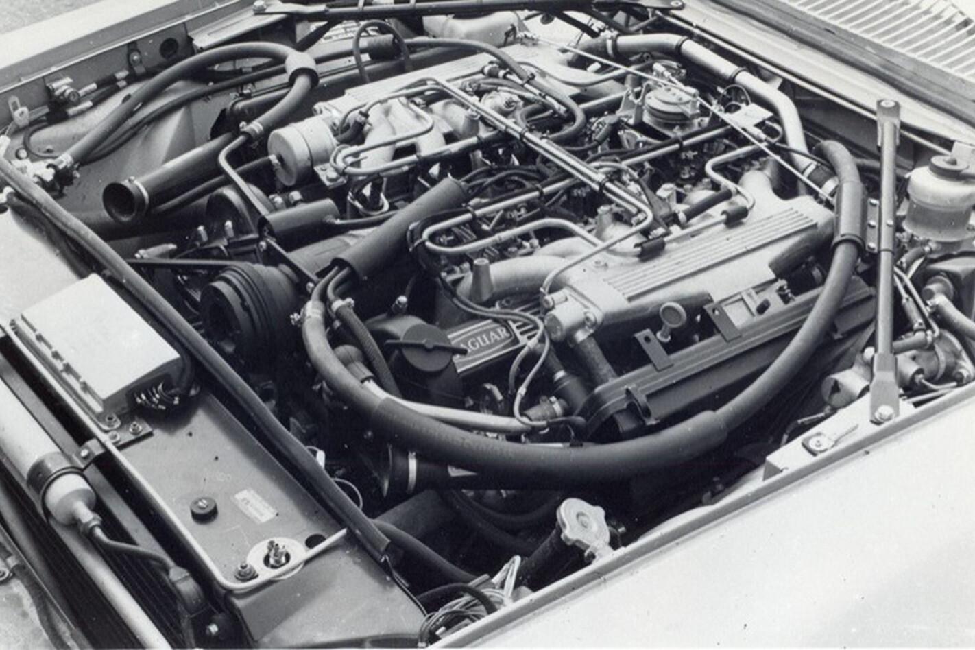 Quints drives a V12 Jaguar