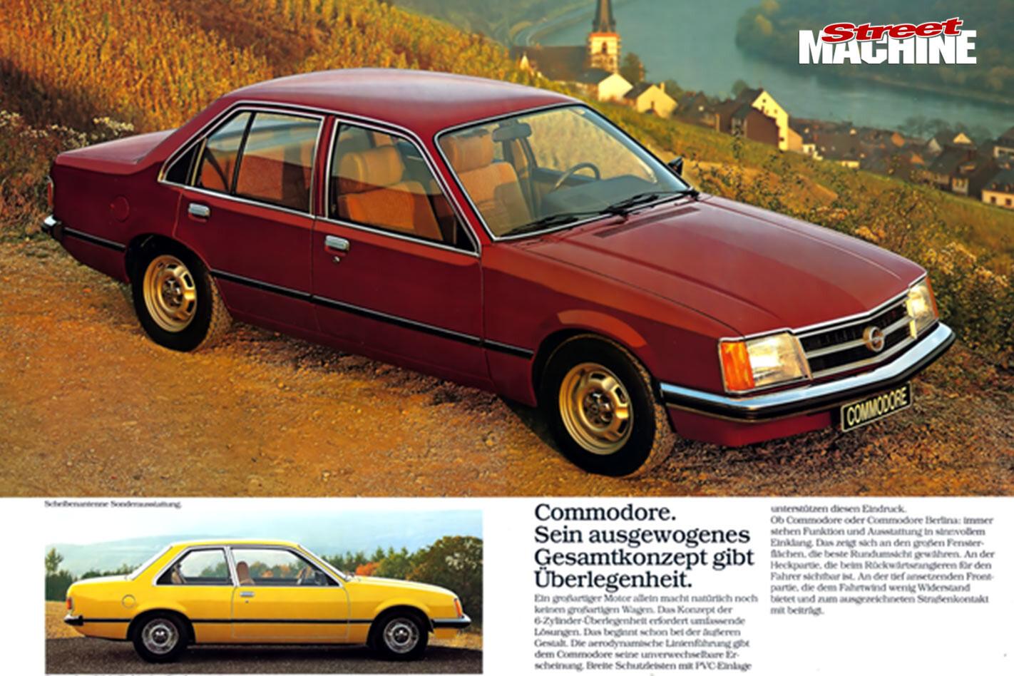Opel/Commodore