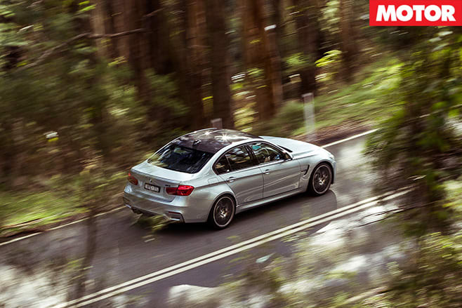 BMW M3 Competition Package top