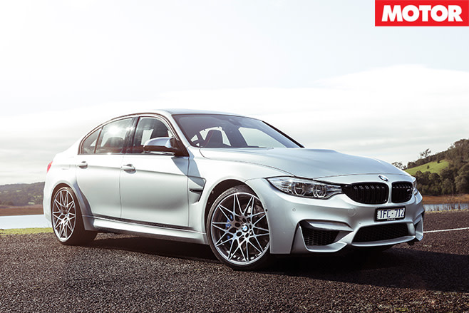 BMW M3 Competition Package still