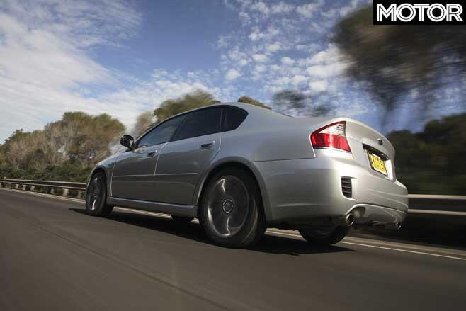 2007 Subaru Liberty GT Spec B Rear Jpg
