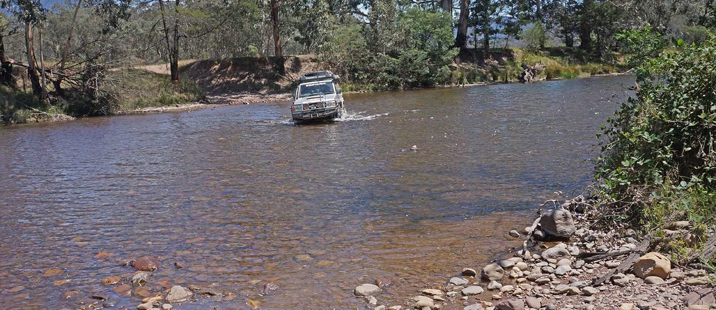 Vic High Country water crossing