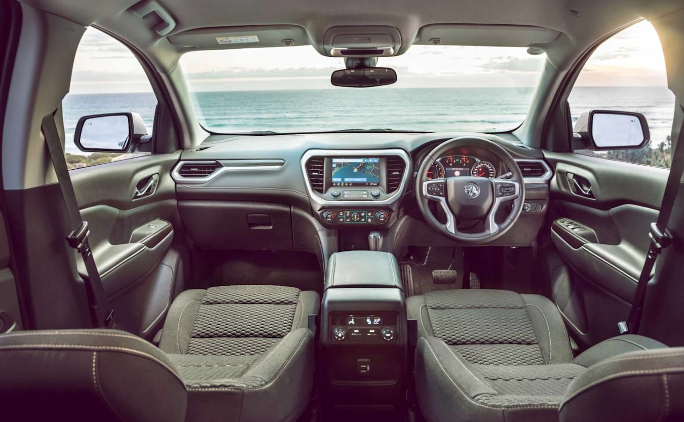 2019 holden acadia interior