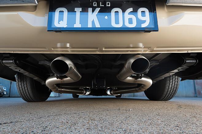 Holden HT exhaust