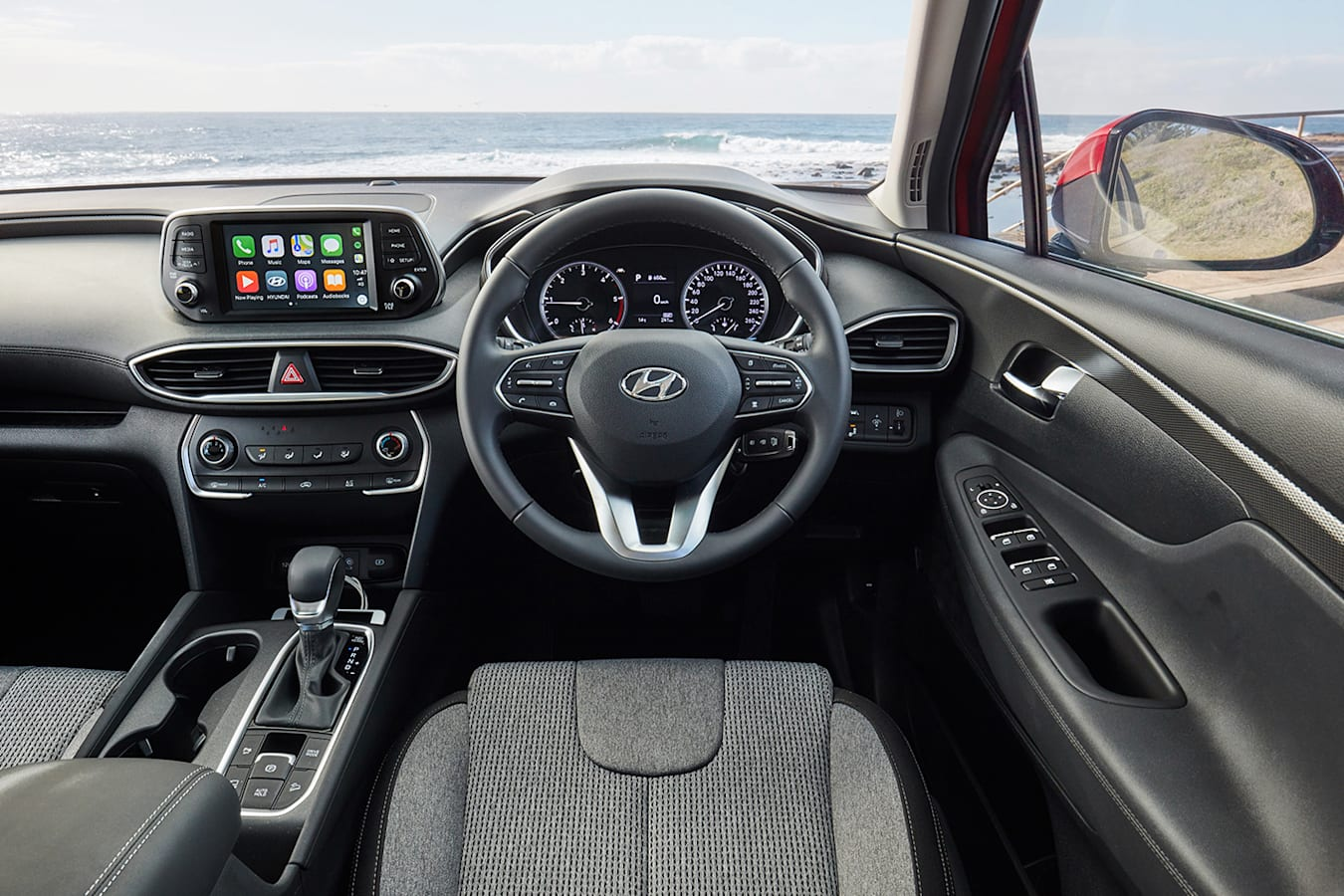 Hyundai Santa Fe Inteiror Jpg