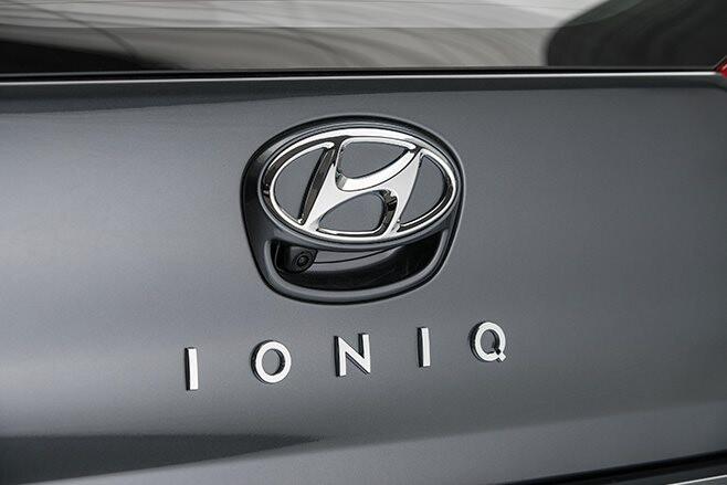 Hyundai Ioniq badge