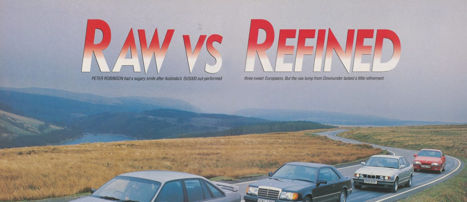 1990 Holden Commodore Raw vs Refined