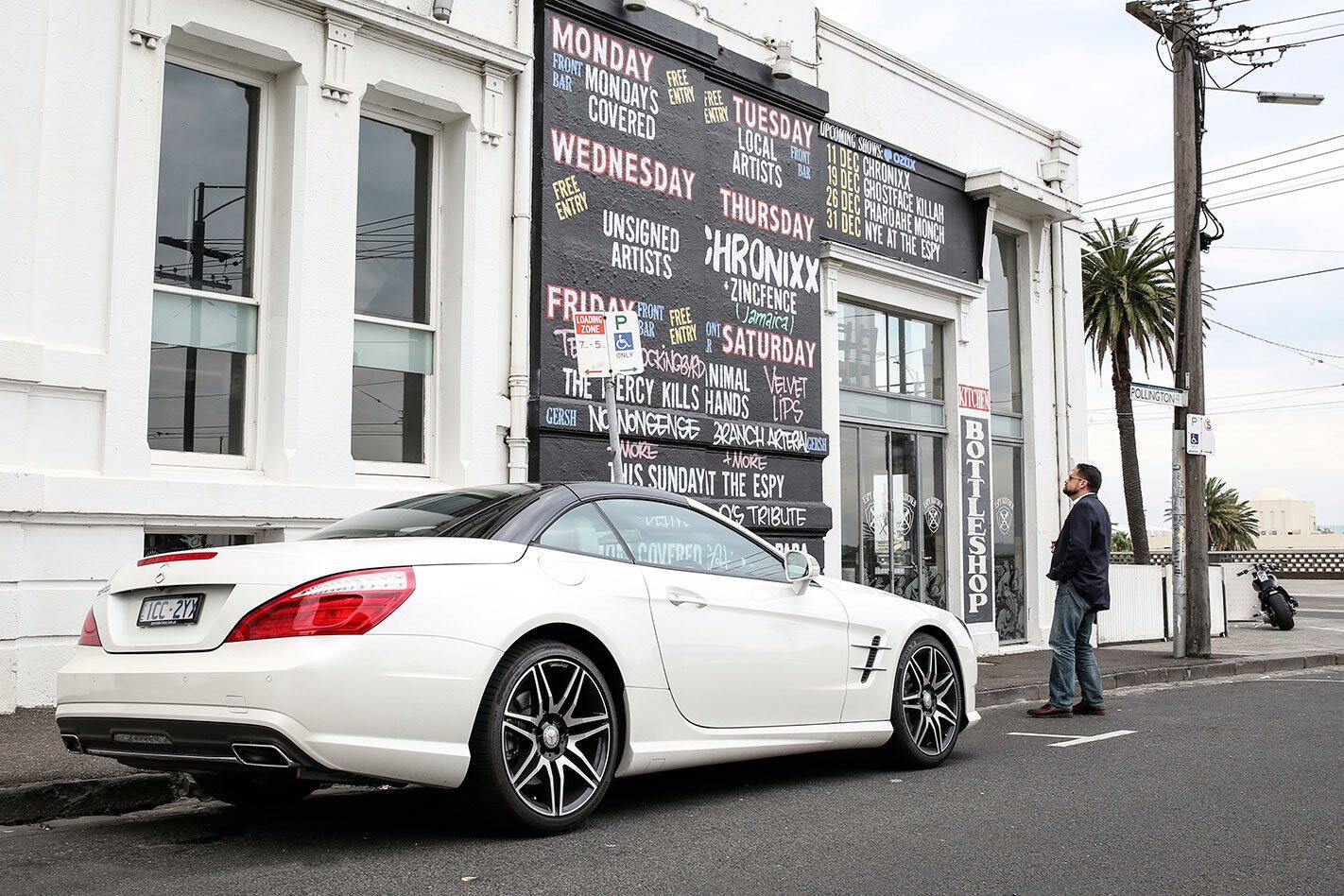 2015 Mercedes-Benz SL400 long term report
