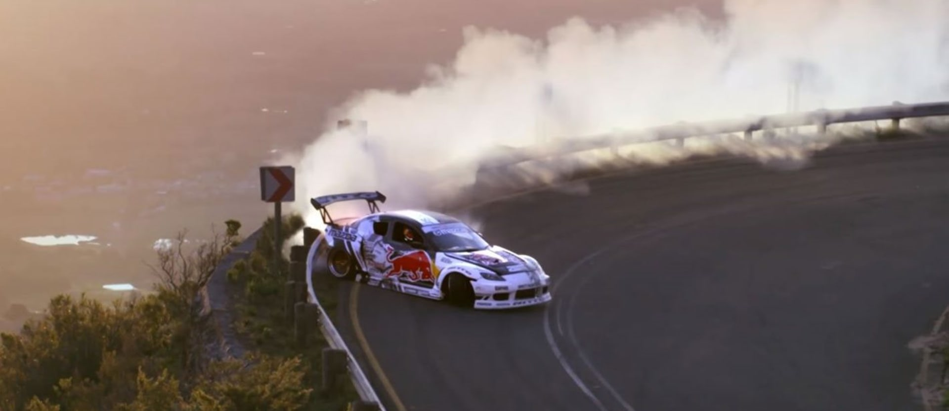 Mad Mike Red Bull South Africa drift