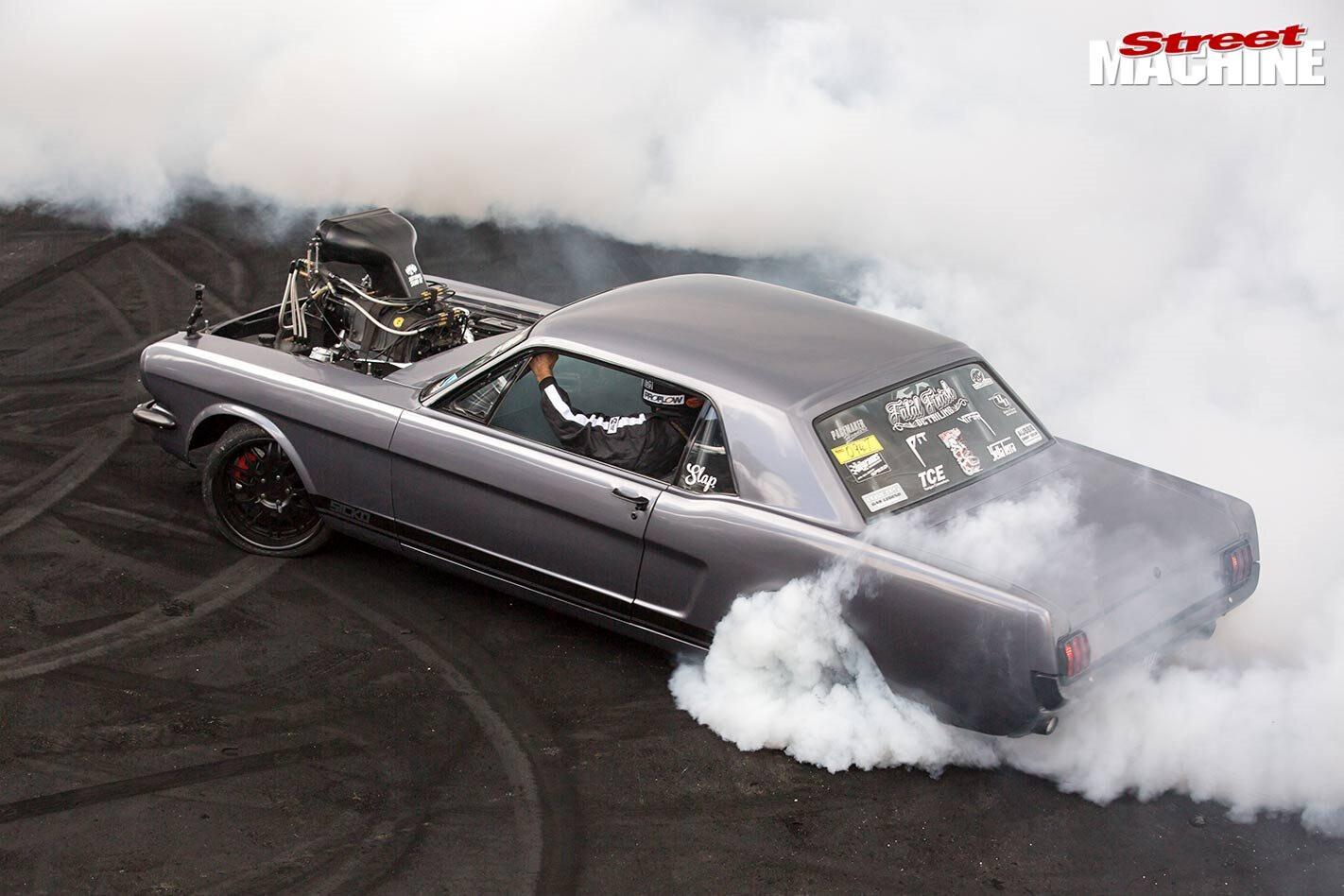 Sicko Mustang Summernats 8 Jpg