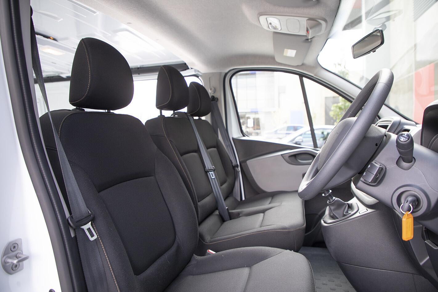 2019 Renault Trafic Traderlife Review Interior Frontseats Jpg