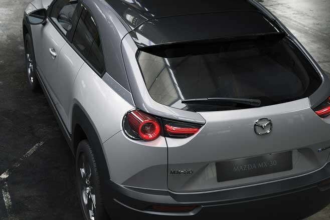 Mazda MX 30 Revealed Top Jpg