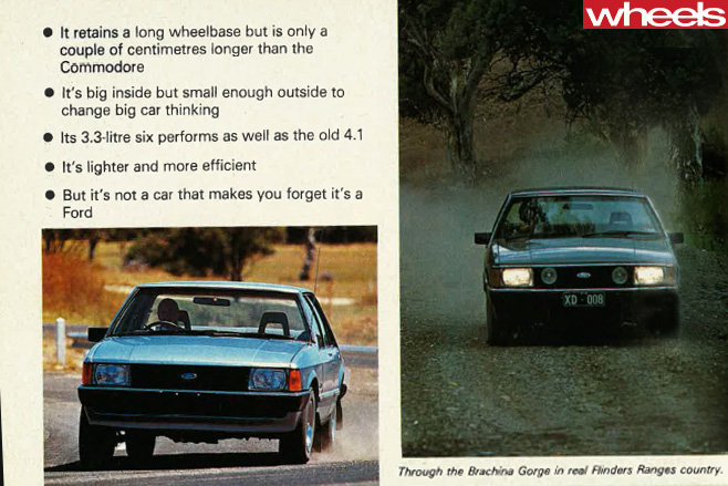 1979-Ford -Falcon -front -side -driving