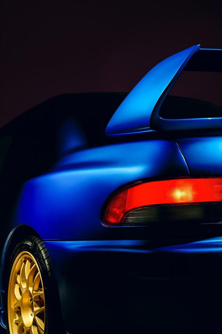 1998 Subaru Impreza WRX 22B-STi Version rear