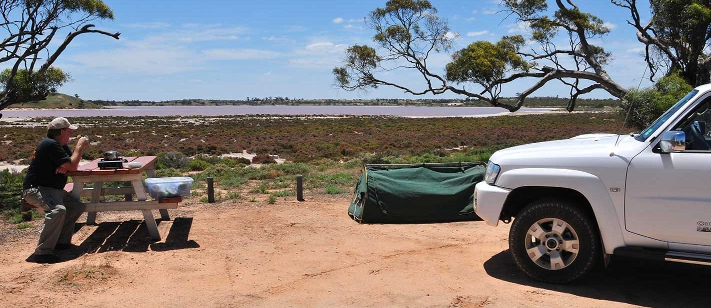 4x4 trip to the Pink Lakes Vic