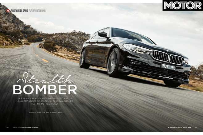 MOTOR Magazine March 2020 Issue Alpina Jpg